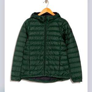 Lole Ultralight Down Puffer Jacket Green Medium
